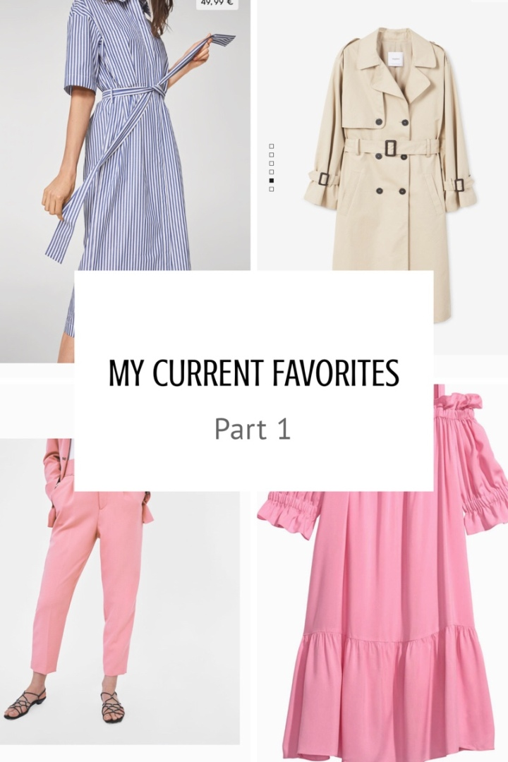 Current Favorites: Part 1, Clothes