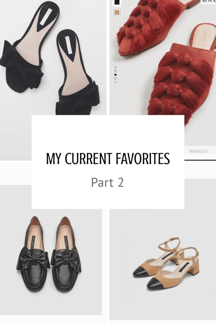 My current Favorites: Part 2, Shoes