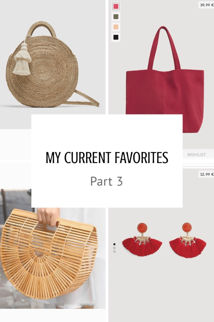 My current favorites: Part 3, Accessoires