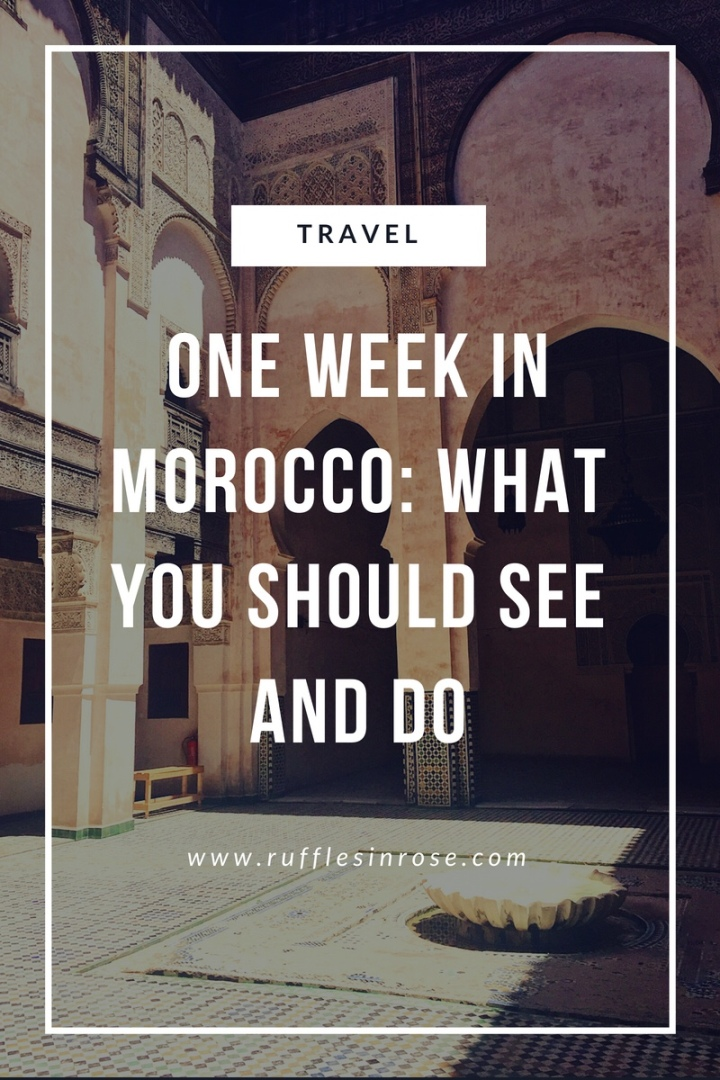 10 things you should do in morocco 🇲🇦