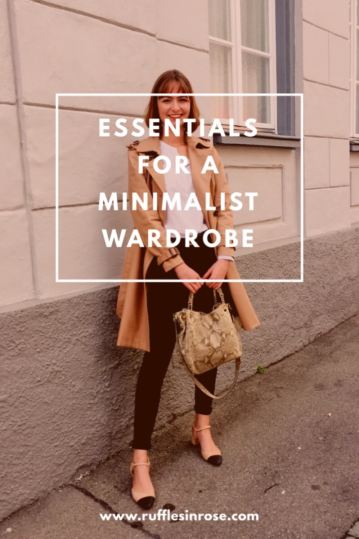 Essentials for a minimalist wardrobe